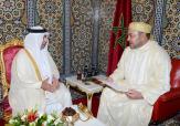 جلالة الملك يستقبل بتطوان سفير دولة قطر الذي سلم لجلالته رسالة من سمو الشيخ تميم بن حمد آل ثاني