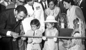 ترؤس افتتاح أسبوع الطفولة - 1968