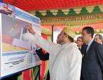 HM The King launches construction works of Safi new port - 19 april 2013