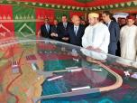 The King launches construction works of Safi new port 19 avril 2013