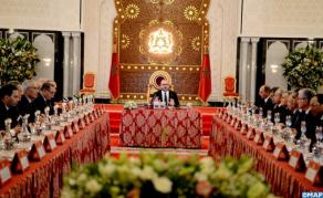 HM the King Chairs in Tangiers' Royal Palace Council of Ministers