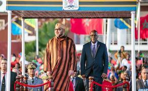 Arrivée de SM le Roi à Dar es Salam pour une visite officielle en Tanzanie