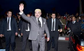 HM the King Arrives in Laayoune