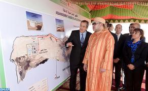جلالة الملك يدشن بالداخلة مشاريع هامة للتطهير السائل والتزود بالماء الصالح للشرب باستثمار إجمالي قدره 495 مليون درهم