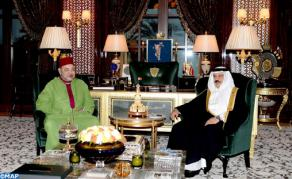 HM King Mohammed VI Holds Talks with King of Bahrain