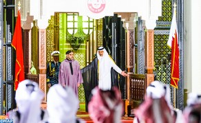 Emir of Qatar Offers Official Ceremonial Welcome in Honour of HM the King