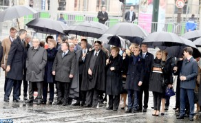 SM el Rey participa en el almuerzo ofrecido por el presidente francés con motivo de la conmemoración del centenario del Armisticio