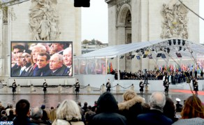 HM the King Takes Part Sunday in Paris in Ceremonies Marking Centenary of Armistice of WWI