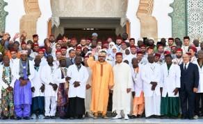 SM el Rey inaugura el proyecto de ampliación del Instituto Mohammed VI para la Formación de los Imanes, Morchidin y Morchidat