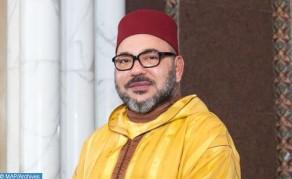 SM le Roi donne Sa haute approbation pour faire un don royal personnel sous forme d'aide alimentaire