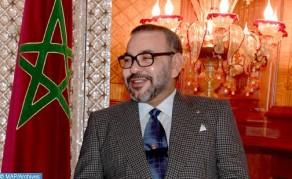 SM el Rey felicita a Chakib Alj con motivo de su elección al frente del CGEM