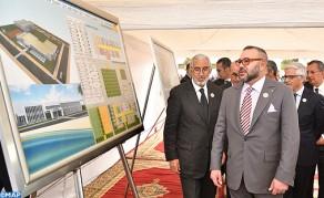 SM el Rey coloca en Casablanca la primera piedra de un centro de formación en los oficios de hostelería y turismo