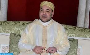 SM el Rey, Amir Al Muminin, preside en Marrakech una velada religiosa en conmemoración de Aid Al-Mawlid Al-Nabawi Acharif