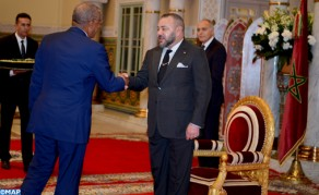 HM the King Receives US Ambassador Coming to Take His Leave of Sovereign