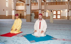 HM the King, Commander of the Faithful, Inaugurates in Tangier HH Lalla Abla Mosque