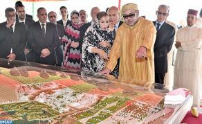 HM the King Launches Construction Works of Foum El Oued-Laayoune Technology Park