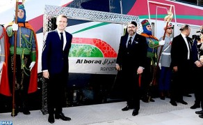 HM the King, French President Inaugurate 'Al BORAQ' High Speed Train Linking Tangier to Casablanca
