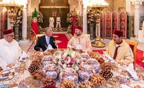 جلالة الملك يقيم بالدار البيضاء مأدبة إفطار رسمية على شرف الرئيس البرتغالي