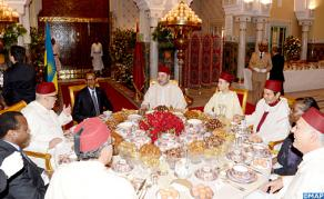 HM the King Hosts Official Iftar in Honor of Rwandan President