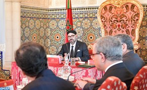 HM the King Chairs Council of Ministers in Rabat