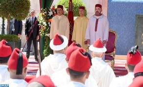 HM the King Chairs in Tangier Reception on the occasion of the Throne Day