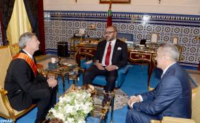 HM the King Chairs Signing Ceremony of Draft Agreement to Establish Boeing Industrial Ecosystem in Morocco