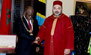 HM the King Holds in Dar es Salaam Private Meeting with Tanzanian Pres.