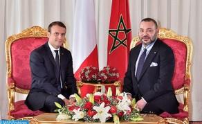 جلالة الملك يتلقى اتصالا هاتفيا من رئيس الجمهورية الفرنسية فخامة السيد إمانويل ماكرون