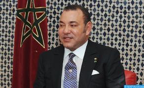 جلالة الملك يهنئ السيد إيفاريستو كارفاليو بمناسبة انتخابه رئيسا لجمهورية ساوتومي وبرينسيبي