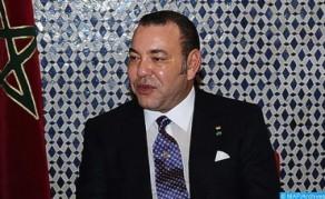 SM le Roi félicite Nordine Oubaali, sacré champion du monde WBC des poids coq