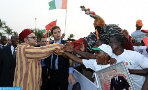 HM the King Arrives in Abidjan for Friendship and Working Visit to Republic of Côte d'Ivoire