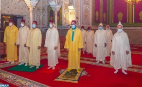 Su Majestad el Rey, Amir Al Muminin, conmemora Laylat Al-Qadr bendita