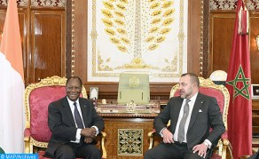 HM the King Meets with Ivorian President