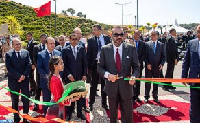 HM the King Inaugurates Rabat-Salé Urban Bypass No 2