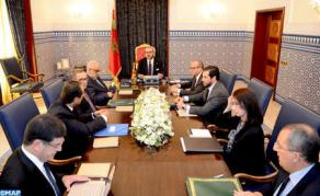 HM the King Chairs Working Session on Energy Sector, Royal Office