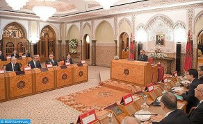 HM the King Chairs in Rabat Council of Ministers