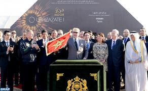 HM the King Chairs Official Commissioning Ceremony of Noor-Ouarzazate Solar Complex's First Plant, Launches Construction Works of 2nd & 3rd Plants