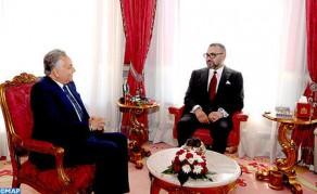 SM el Rey recibe al secretario general del PPS con motivo de su reelección al frente del partido