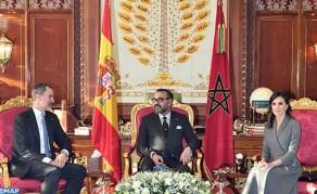HM King Mohammed VI Holds Talks with HM King Felipe VI of Spain