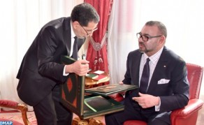 HM the King Receives in Rabat Head of Govt., Interior Minister and Economy Minister