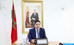 M.Bourita: Le scrutin du 8 septembre confirme l'attachement de la population du Sahara marocain à l'