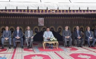 """SAR el Príncipe Moulay Rachid preside la ceremonia de entrega de los premios del Trofeo Hassan II de Artes ecuestres tradicionales """"Tburida"""""""