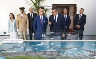 SAR le Prince Héritier Moulay El Hassan représente SM le Roi à la cérémonie de lancement des opérations portuaires de Tanger Med 2, une plateforme qui positionne Tanger Med comme première capacité portuaire en Méditerranée