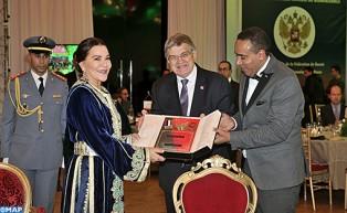 صاحبة السمو الملكي الأميرة للا حسناء تترأس بالرباط حفل العشاء الدبلوماسي الخيري