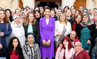 صاحبة السمو الملكي الأميرة للا مريم تترأس بمراكش مراسيم الاحتفال باليوم العالمي للمرأة