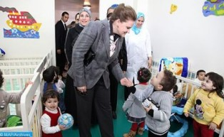 صاحبة السمو الأميرة للا زينب تترأس الجمع العام للعصبة المغربية لحماية الطفولة