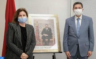صاحبة السمو الأميرة للا زينب تستقبل السيد محمد عبد النبوي، رئيس النيابة العامة