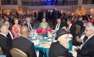 HRH Princess Lalla Hasnaa Chairs in Los Angeles Gala Dinner Honoring the Alawite Dynasty as a 'Dynasty of Tolerance'