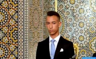Rogativas por lluvia en la Mezquita Hassan de Rabat en presencia de SAR el Príncipe Heredero Moulay El Hassan