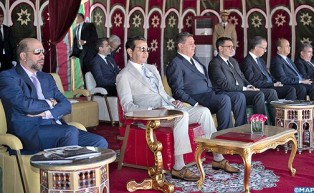 HRH Prince Moulay Rachid Chairs Awarding Ceremony of 19th Hassan II Trophy of Traditional Equestrian Arts